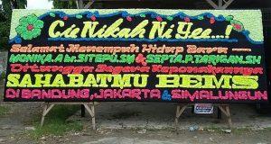 toko karangan Papan Bunga di Pulau Karam Sukajadi